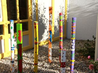 Eingangsbereich erstrahlt in neuen Farben