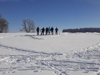 Wir erleben den Winter von seiner schönsten Seite ...