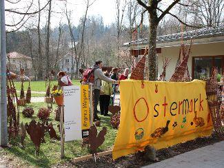 Ostermarkt lockt viele Gäste an