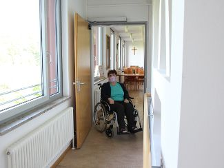 Mehr Freiraum für Rollstuhlfahrer
