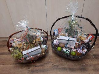 Geschenkkörbe vom Immo-Team Allgäu